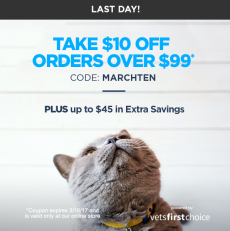 "Save $10 with ""MARCHTEN"" – Last Day"